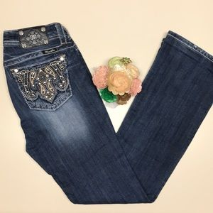 Miss Me Bootcut Jeans Size 28
